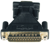 AT Serial Adapter (DB9 to DB25 F/M) -- P100-000-R - Image