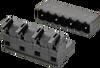 Spring Clamp Terminal Blocks Pluggable -- ASP049