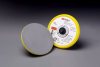 3M(TM) Stikit(TM) Low Profile Disc Pad 85104, Silver, 5 in x 3/8 in 5/16-24 External, 10 per case -- 051144-85104