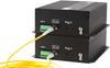 4-Channel Digital Fiber Optic Video Multiplexer 1-Channel Bi-Directional Data   4-Channels Bi-Directional Audio   and 4 Channels of Contact Closure -- FVTM/FVRM4ACxA-C0 - Image