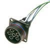 MIL-DTL-38999 Sz 21-4 Fiber Optic Plug -- 236401-2000 - Image