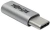USB 2.0 Adapter, USB-C to USB Micro-B (M/F) -- U040-000-MIC-F - Image