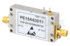 0.85 dB NF Input Protected Low Noise Amplifier, Operating from 3.1 GHz to 3.5 GHz with 35 dB Gain, 13 dBm P1dB and SMA -- PE15A63011 - Image