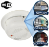 Wifi Enabled Smoke Detector IP Camera