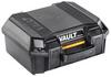 Pelican V100 Vault Case with Foam - Black | SPECIAL PRICE IN CART -- PEL-VCV100-0020-BLK - Image
