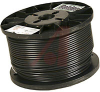 COAXIAL CABLE, RG-59/U, 20AWG SOLID, 75OHM IMP, DIGITAL VIDEO CABLE BLACK -- 70005406 - Image