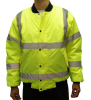 HI-Viz Clothing -- High Visibility Bomber Jacket, Class 3 - Image