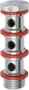 Nickel-Plated Brass Push-In Fittings -- 1631 03-04