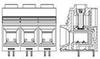 Fixed Terminal Blocks -- 1986242-8 -Image