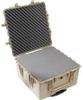 Pelican 1640 Transport Case with Foam - Desert Tan | SPECIAL PRICE IN CART -- PEL-1640-000-190 -Image