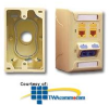 ICC Faceplate Junction Box - Single Gang -- ICACSMBS