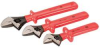 Insulated Adj Wrench Set,8,10,12 in. -- 26X328