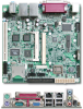 Mini-ITX Form Factor Carrier Board For Qseven Module with Dual Displays and Two GbE -- PQ7-C200