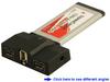 3-Port FireWire 1394a + 1394b ExpressCard 34 -- ECFW320