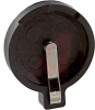 Battery Holder, Coin-Cell; 16 mm; 0.75 in.; Glass Filled Nylon; 1; Spring Steel -- 70181717 - Image
