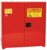 Eagle 24 gal Red Hazardous Material Storage Cabinet - 43 in Width - 44 in Height - 048441-33404 -- 048441-33404