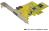 Dual Channel Serial ATA PCI Express (x1) C&#8230 -- PESA110