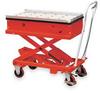 Roller Transfer Scissor Cart,Cap 2200 Lb -- 2MPP8