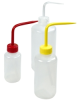Narrow Mouth Color Coded Wash Bottles -- 69149