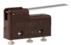 MICRO SWITCH SM Series Subminiature Basic Switch, Single Pole Double Throw (SPDT), 250 Vac, 5 A, Straight Lever Actuator, Solder Termination -- 311SM2-T -Image