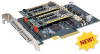 PCIe Carrier Card for AcroPack® or mini-PCIe Mezzanine Modules, Four Slots -- APCe7040