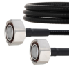 Fire Rated Low PIM 7/16 DIN Male to 7/16 DIN Male Cable SPF-250 Coax in 60 Inch Using Times Microwave Parts and RoHS -- FMCA2026-60 -Image