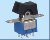 Miniature Rocker and Lever Handle Switch -- RLS-202-A1 ON-ON RLS-202-A1 ON-ON - Image