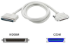Cables To Go 6-Foot SCSI-3 MD68M TS to SCSI-1 C50M Cable -- 07861 - Image