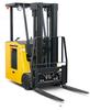Electric Stand-up Forklift, Komatsu Forklift -- Komatsu ASX - Image