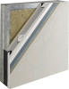 External Wall Insulation Moisture Drainage System -- Outsulation® Rail