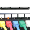 48 Port CAT6 110 Patch Panel Rackmount w/LED Indicator -- 1022-SF-30