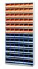 Bin cabinet 9006.830, with 72 storage trays 9074 -- 9006.830