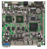 ITX-i2705 (SolidBoard-732E) Extended / Wide Operating Temperature Mini-ITX Motherboard with Embedded Fanless Intel ATOM N270 1.6 GHz Processor -- 2808225