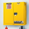 Justrite Wall/Bench-Mount Flammable Safety Cabinet -- CAB180 -Image