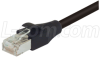 Shielded Cat. 5E Low Smoke Zero Halogen Cable, RJ45 M-M, 25.0 ft -- TRD855SZ-25