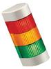 PATLITE (U.S.A.) - WME-302AFB-RYG - LIGHT TOWER, CONT FLASHING, 2 AUD ALARMS -- 77244
