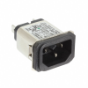 Power Entry Connectors - Inlets, Outlets, Modules -- 1-6609987-9-ND - Image
