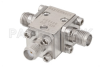 Circulator With 17 dB Isolation From 18 GHz to 26.5 GHz, 10 Watts And SMA Female -- PE8406 - Image