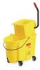 35 qt,Mop Bucket w/Side Pressure Wringer -- 5NY79 - Image