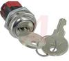 Switch, Keylock; DP; 250VAC; 2A; Keypull POS 1; Solder lug -- 70128597
