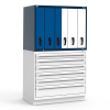 R2V Vertical Drawer Cabinet (Two Users) -- RL-6HHG34004N -Image
