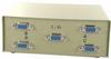 4-Way DB9 Female ABCD Serial or EGA Monitor Switch Box -- 40D1-10604