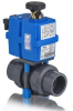 3-Way Premium Multi-Voltage Electrically Actuated Ball Valves -- TEBVB -Image