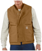 Men's Flame-Resistant Duck Vest - Quilt Lined -- CAR-FRV036