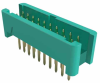 10+10 Pos. Male DIL Vertical Throughboard Conn. no Latches -- G125-MV22005L0P -- View Larger Image