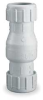 Check Valve,1-1/2 In,Compression,PVC -- 4RG88 - Image