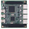 USB 2.0/IEEE 1394a PC/104-Plus Module -- PCM-3620 - Image