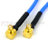 RA SMP Female to RA SMP Female Cable FM-F086 Coax in 8 Inch and RoHS -- SCA61086-08 -Image