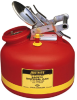 Justrite Liquid Disposal Can with Built In Fill Gauge -- CAN14724