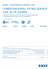 Computational Intelligence and AI in Games, IEEE Transactions on -- 1943-068X